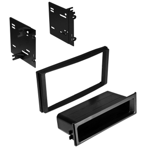 Single ISO with Pocket or Double-DIN Dash Installation Kit for Subaru® 2009 to 2014