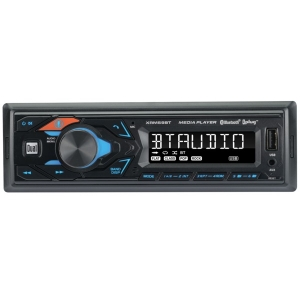 Single-DIN In-Dash All-Digital Media Receiver with Bluetooth®