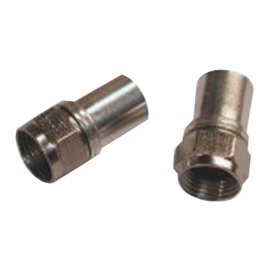 Radial Compression RG6 Connectors with O-Ring,...