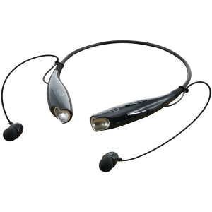 Bluetooth Neckband & Earbuds (Black)