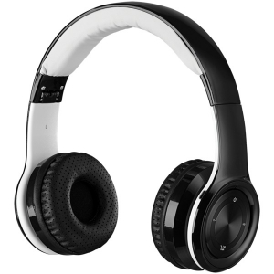 Bluetooth Over-the-Ear Headphones with Microphone (Black)