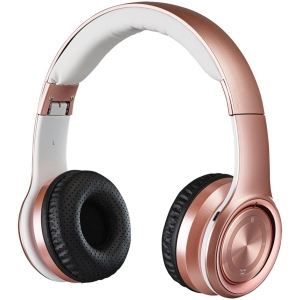 Bluetooth Over-the-Ear Headphones with Microphone (Rose Gold)