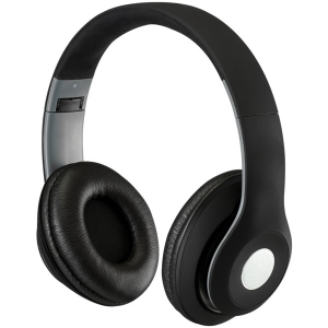 Bluetooth Over-the-Ear Headphones with Microphone (Matte Black)