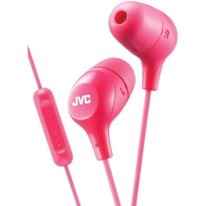 Marshmallow Inner-Ear Headphones with Microphone (Pink)