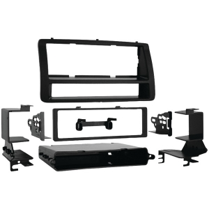 Single-DIN/ISO-DIN Installation Kit with Pockets...