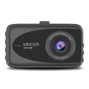 MNCD38 1080p Full HD Dash Camera with 3.2-Inch LCD Screen (Black)