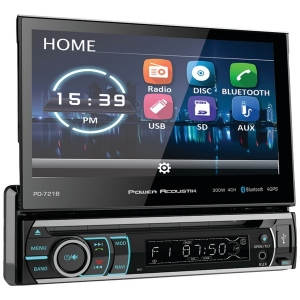 "7"" Incite Single-DIN In-Dash Motorized LCD..."