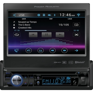 "7"" Single-DIN In-Dash Motorized LCD Touchscreen..."