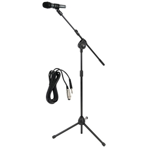 Microphone & Tripod Stand with Extending Boom &...
