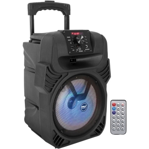 Portable Bluetooth® PA Speaker and Microphone...