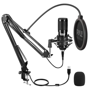 Desktop USB Podcast Microphone Kit