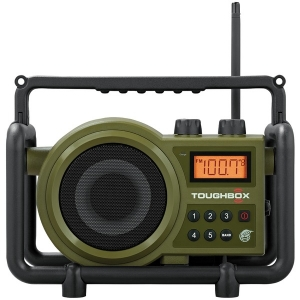 TOUGHBOX FM/AM/Aux Ultra-Rugged Digital Rechargeable Radio