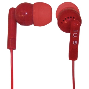 Porockz Stereo Earphones (Red)