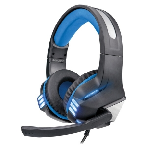Pro-Wired Gaming Headset with Lights (Blue)