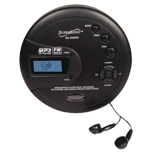 Personal MP3/CD Player with...