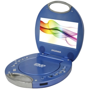 "7"" Portable DVD Player with..."
