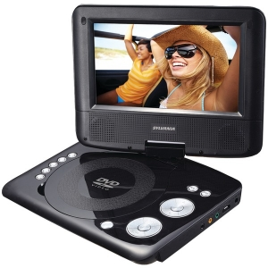 "7"" Swivel-Screen Portable DVD Player"