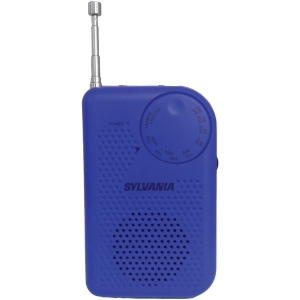 Portable AM/FM Radio (Blue)