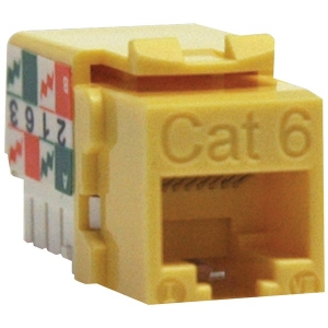 CAT-6/CAT-5E 110-Style Punch-down Keystone Jack...