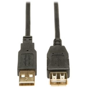 Hi-Speed A-Male to A-Female USB 2.0 Extension...