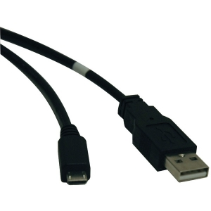 USB 2.0 A-Male to Micro B-Male Cable (10ft)